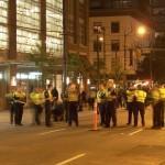 Stanley Cup 2011 Vancouver - Polizeitruppen sammeln sich